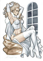 Emma Frost by mrno74