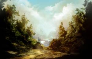 landscape speedy 01 by Abuze