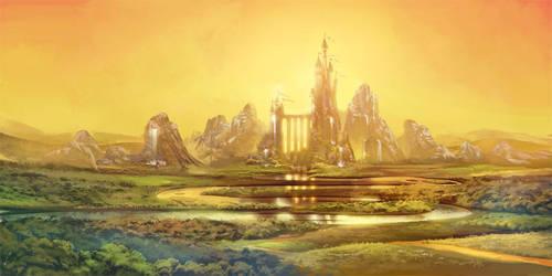 Repaint Castle fairytale project by Abuze