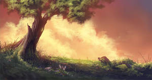 fairytale project journey scenery by Abuze
