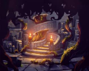 fairytale project secret cellar by Abuze
