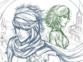 Sketch-Prince of Persia 2008 by nori942