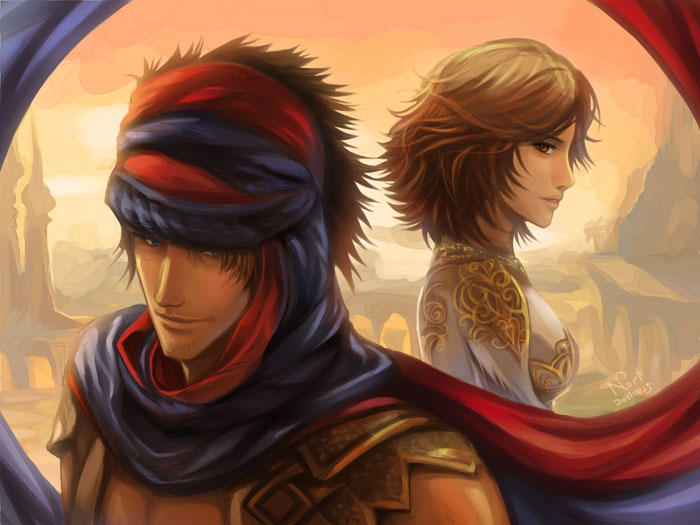 Prince of Persia 2008 by nori942