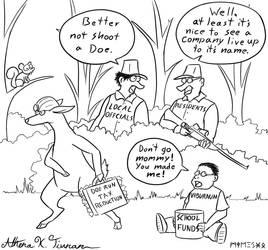Doe Run Cartoon by Athena-Tivnan