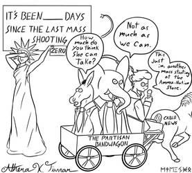 Mass Shooting Cartoon by Athena-Tivnan