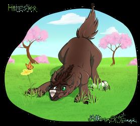 Training: baby Anataria by Athena-Tivnan
