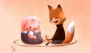 The Dam Keeper: Circle of Friendship by ukalayla