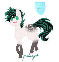 [Pony bnha] Midoriya Izuku by KittyHarmony