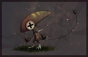 Little Robot by Firequill