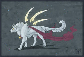 White Wolf by Firequill