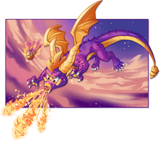 Spyro Reignited by Firequill