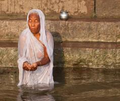Mother Ganga by ivyblue