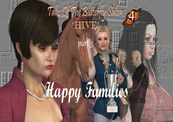 Butterfly Salon 4 Hive 'Happy Families' by morphed08