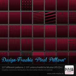 117 Pixelpattern Pack 1 by Hexe78
