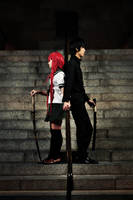 Shakugan no Shana Cosplay - 03 - The Promised Pair by mangalphantom