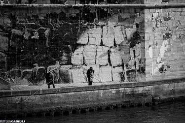 Fishing on Seine by bulentcalli