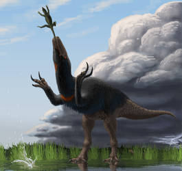 An Offering To The Storm Gods by Batavotyrannus