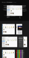 Windows 10 File Explorer Concept by ArchXen