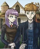 Equestrian gothic by brother-lionheart
