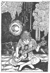 Night and Spirals by Bloodinho