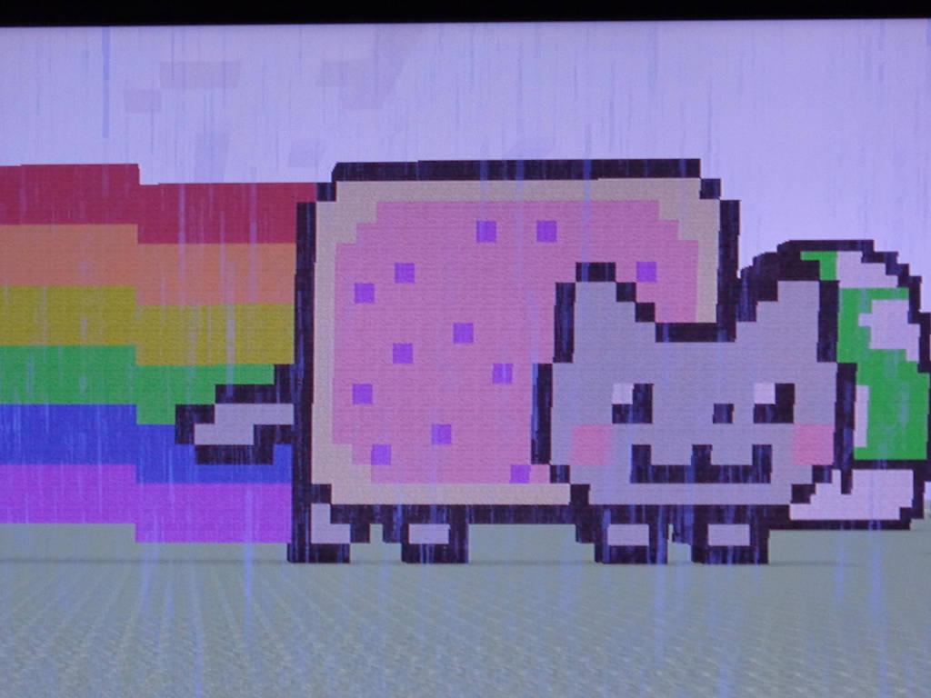 Nyan Cat Graph Paper Zoro Braggs Co