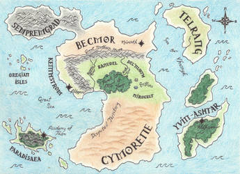 A Map of  Cyrin- NEW by EagleFlyte