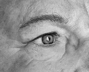 Eye I - Detail by giacomoburattini