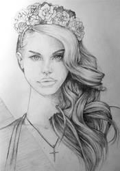 Lana Del Rey by surges