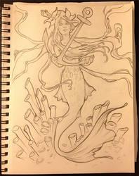 Mermaid by surges