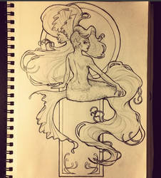 Mermaid Bitch by surges