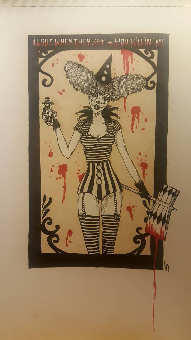 The Killer Clown | Dark Circus series *3 by Mayanahoney