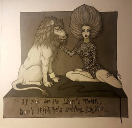 The Lion's Woman | Dark Circus series *5 by Mayanahoney