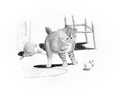 Fiercest Kitten by irish-brigid
