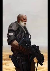 Old man by alexart911