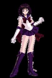 Super Sailor Saturn by Bhrunno