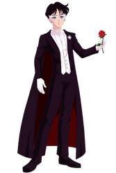Tuxedo Mask by Bhrunno