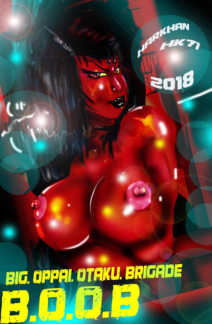 lynz  boobs by HARKHAN71