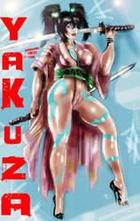 Yakuza Girl yoko by HARKHAN71