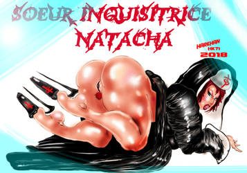 sister inquisitor  Natacha by HARKHAN71