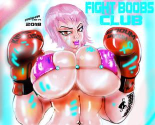 Cindy Fight Boobs Club by HARKHAN71