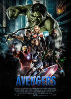 THE AVENGERS by darkwatch7