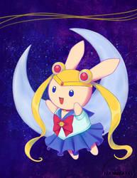 Sailor Bunny by FlameFairy
