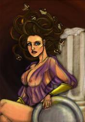 Medusa's Lair by FilXVII