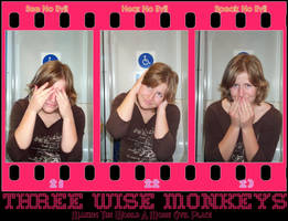 Three Wise Monkeys motivator by peanuthorst