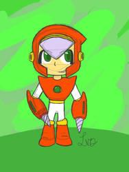 Chibi Crashman Sketch by LynnDoubleLegacy