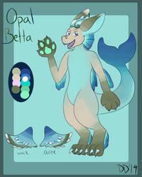 Opal Betta - Cusotm Dutchie by DeviouslyDoomed