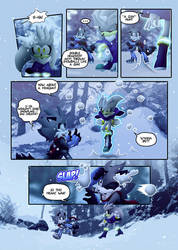 ''The first snow'' Page 3 (Colorized) by COUNTERR3VOLUTION