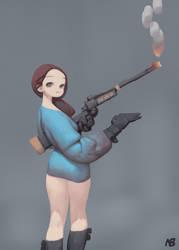 gun by nbekkaliev