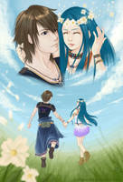 Happy Ending - Noel and Yeul from FFXIII-2 by CoffeeCat-J