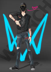 Watch_Dogs 2 - Wrench by CoffeeCat-J